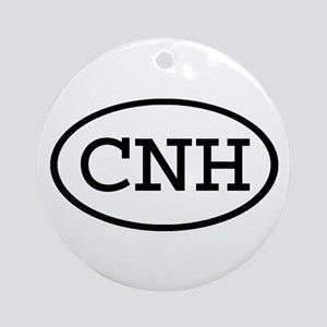 CNH Oval Ornament (Round)