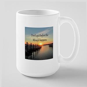 LOVE MIRACLES Large Mug