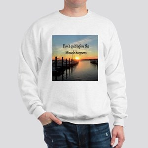 LOVE MIRACLES Sweatshirt