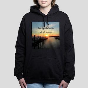 LOVE MIRACLES Women's Hooded Sweatshirt