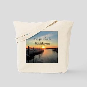 LOVE MIRACLES Tote Bag