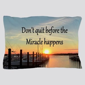 LOVE MIRACLES Pillow Case