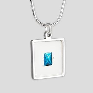 Blue Zircon Necklaces