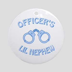Officer's Lil Nephew Ornament (Round)