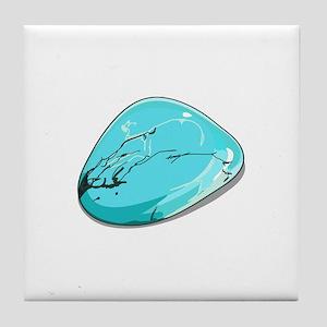 Turquoise Tile Coaster