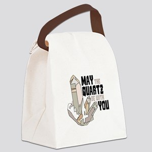 Quartz Be With You Canvas Lunch Bag
