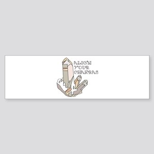 Quartz Chakras Bumper Sticker