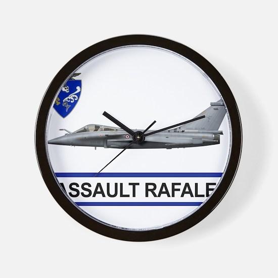 rafale_dassault_libya.png Wall Clock