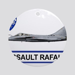 rafale_dassault_libya Ornament (Round)