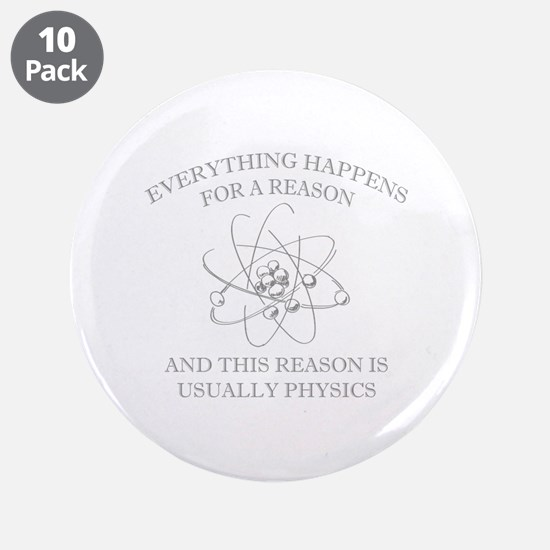 """Everything Happens For A Reason 3.5"""" Button (10 pa"""
