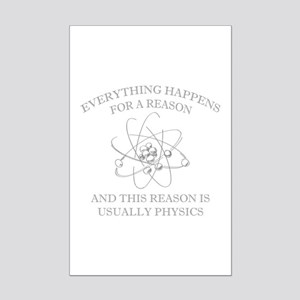 Everything Happens For A Reason Mini Poster Print