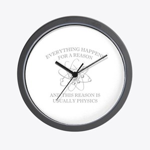 Everything Happens For A Reason Wall Clock