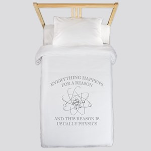 Everything Happens For A Reason Twin Duvet