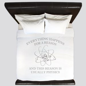 Everything Happens For A Reason King Duvet