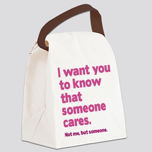 Someone Cares Canvas Lunch Bag