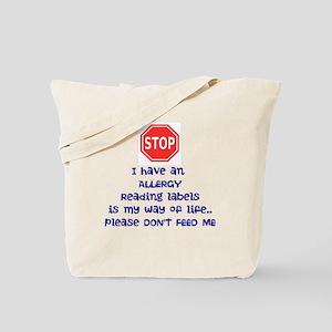 Labels Tote Bag