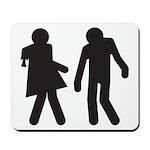 Zombie Duo Mousepad