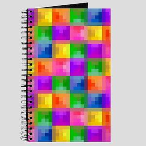 Jewel Tone Mosaic Pattern Journal