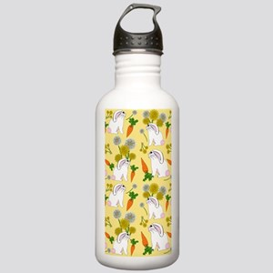Bunnies and Rabbit Foo Stainless Water Bottle 1.0L