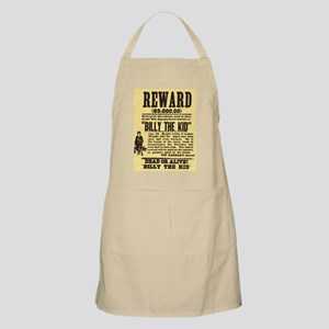 Billy The Kid Dead or Alive BBQ Apron