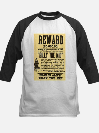 Billy The Kid Dead or Alive Kids Baseball Jersey