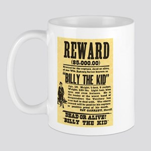 Billy The Kid Dead or Alive Mug
