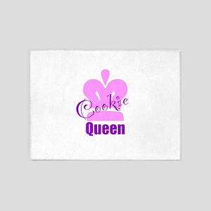 Cookie Queen 5'x7'Area Rug