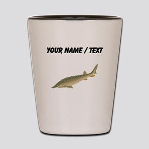 Custom Sturgeon Shot Glass