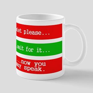 Quiet Please Mugs