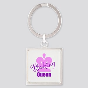Baking Queen Keychains
