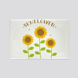 Sunflower Magnets