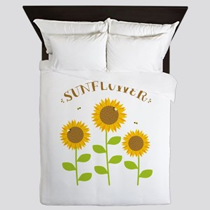 Sunflower Queen Duvet