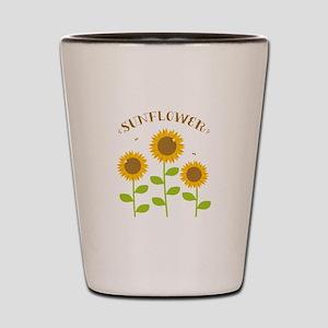 Sunflower Shot Glass