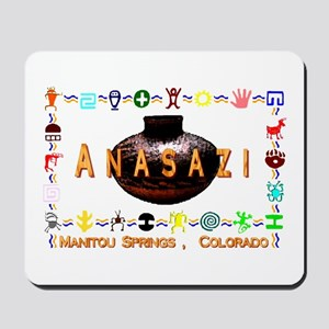 Anasazi Art Manatou Springs , Mousepad