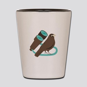 Binoculars Bird Shot Glass