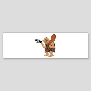 Nice Pelt Bumper Sticker