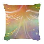 Spirit Angel Woven Throw Pillow