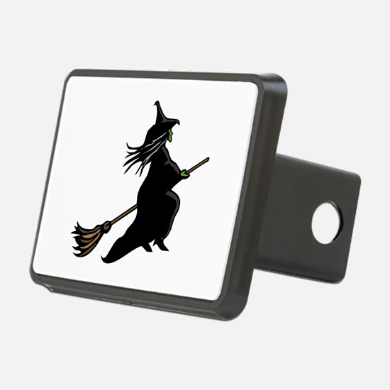 Witch On Broom Hitch Cover