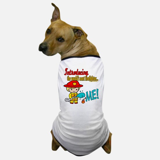 Future Fireman Dog T-Shirt