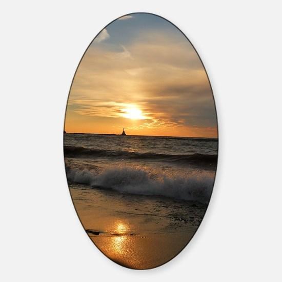 Golden Sunset Decal