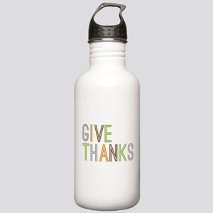Give Thanks Stainless Water Bottle 1.0L