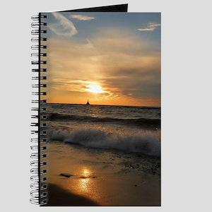 Golden Sunset Journal