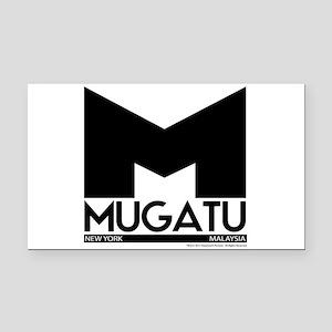 Mugatu Rectangle Car Magnet