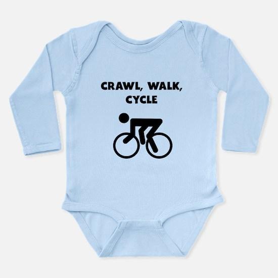 Crawl Walk Cycle Body Suit