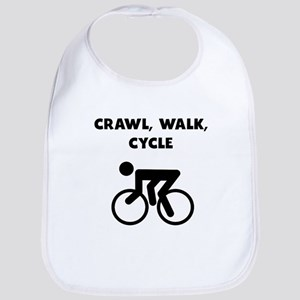 Crawl Walk Cycle Bib