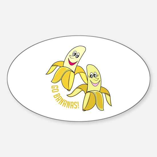 Go Bananas Decal
