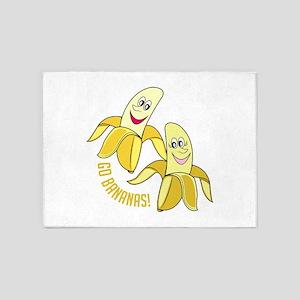 Go Bananas 5'x7'Area Rug
