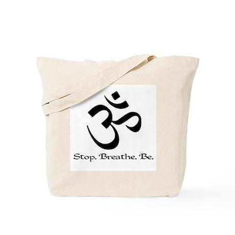 Om: Breathe & Be. Tote Bag