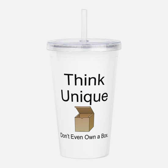 Think Unique Acrylic Double-wall Tumbler