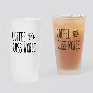 CoffeeCuss Drinking Glass